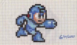 Mega Man Sega Genesis sprite