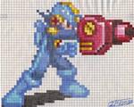 Mega Man EXE battle gp sprite