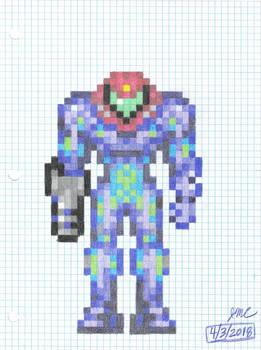 Gravity Fusion Suit Samus