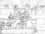 Rider Agent 3.5 WIP sketch layout by dragontamer272