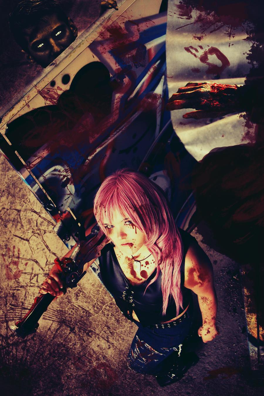 Lightning ~ Bloody Day by GoddessOfValhalla