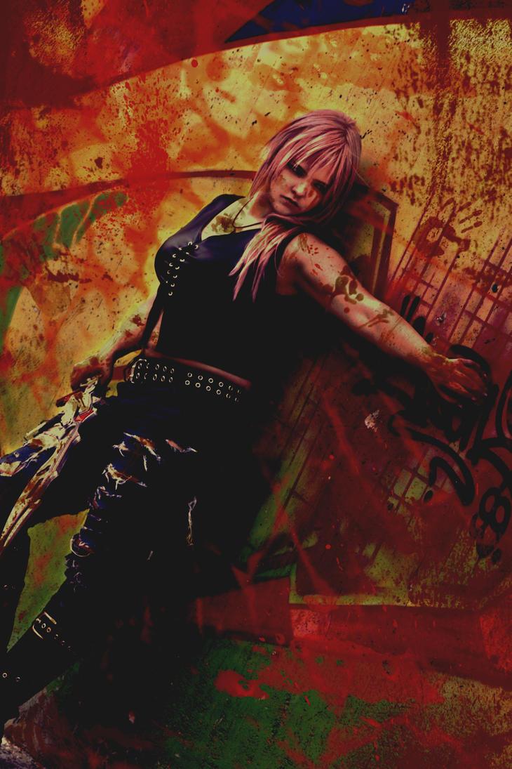 Lightning ~ Lust for blood by GoddessOfValhalla