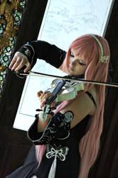 Luka Megurine ~ Listen to my melody by GoddessOfValhalla