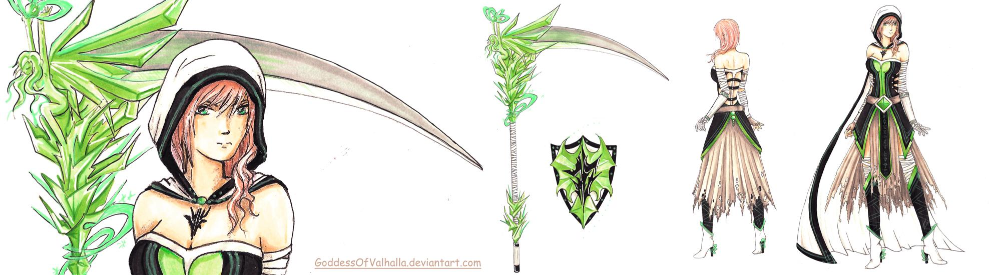 LIGHTNING FARRON - CONTEST - GODDESS OF DEATH by GoddessOfValhalla