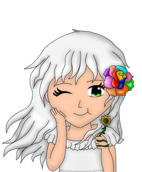 Annabell Green- Child style (My Ocs) by kyliesmiley1998