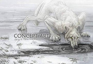 Werewolf Calendar Dec. Concept