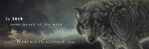 Werewolf Calendar Bookmark