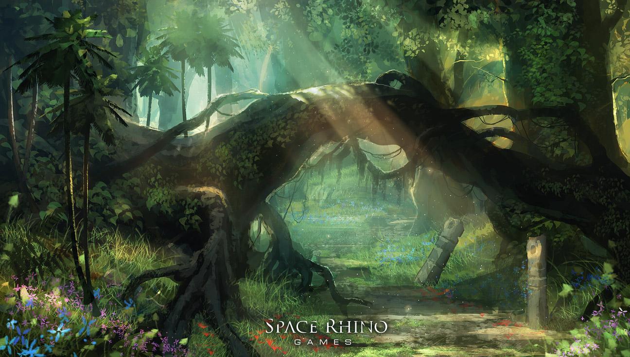 Jungle Path1 by balaa
