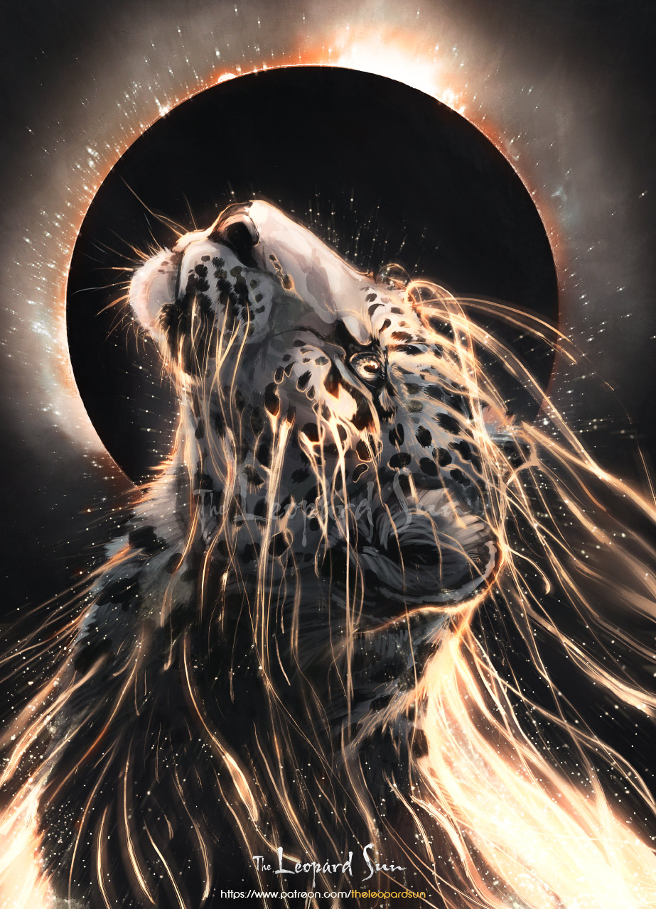 The Leopard Sun - Leopard Moon by balaa