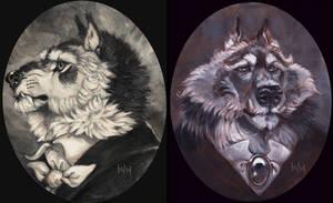 Dapper Werewolves by balaa