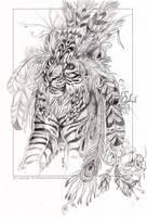 Tribal Tiger by balaa