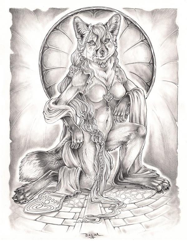 Red Fox Princess by balaa