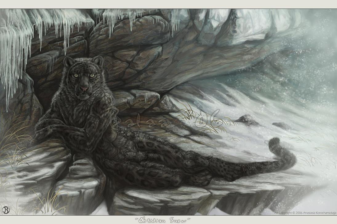 Obsidian Snow by balaa