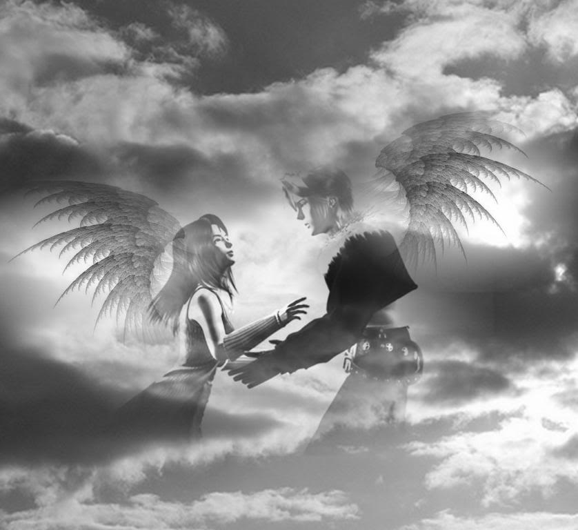 Squall And Rinoa Pictures Squall And Rinoa Angel bg by