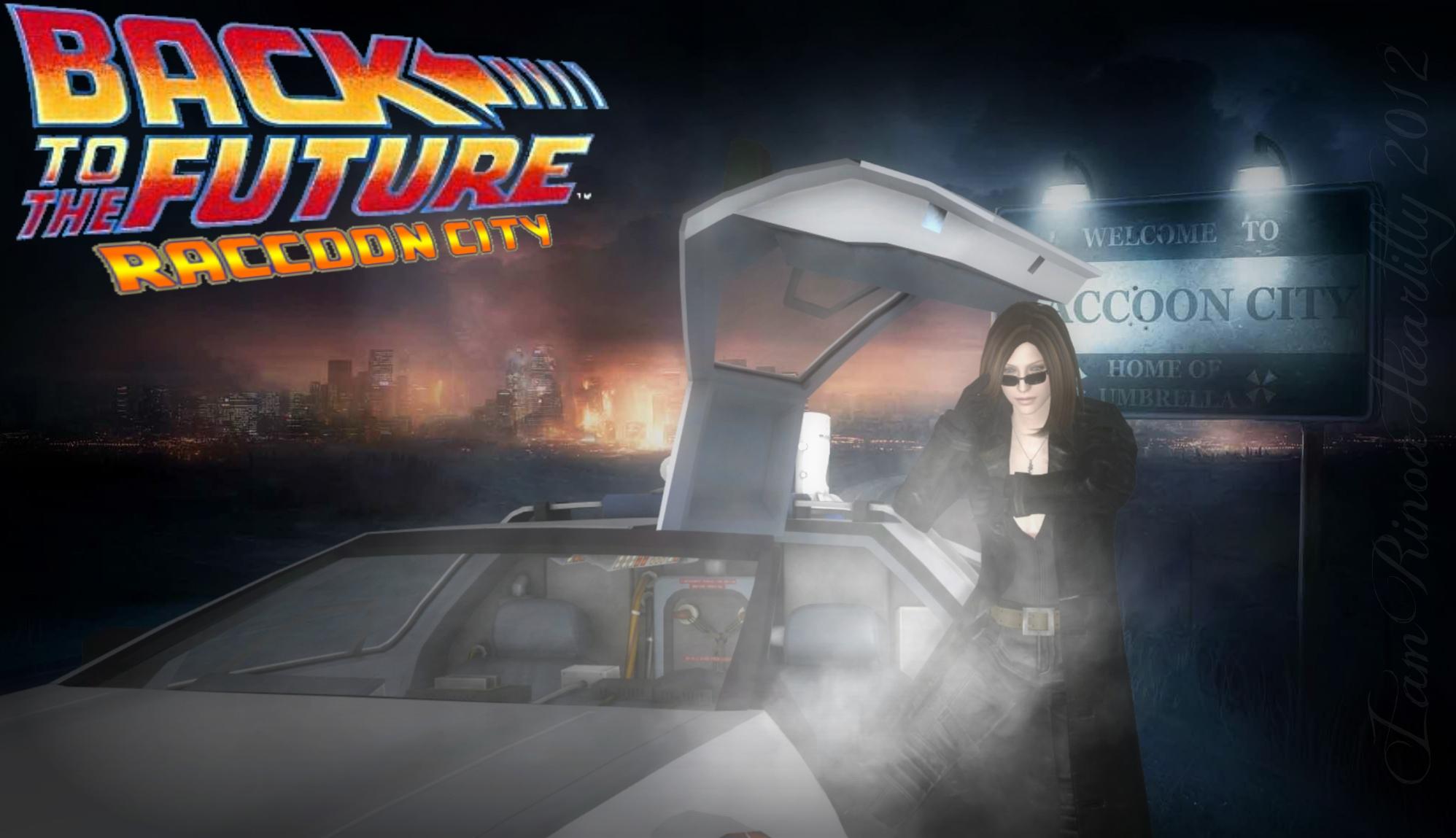 Back To The Future: Raccoon City by IamRinoaHeartilly