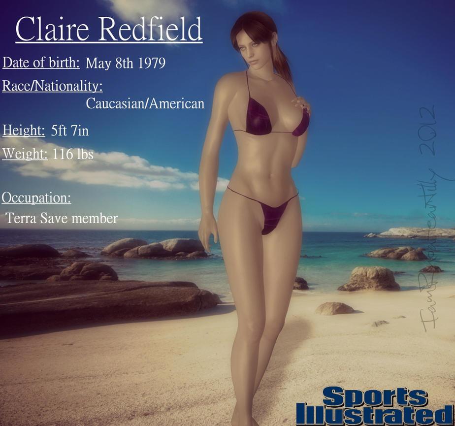 Claire Redfield Bikini 42