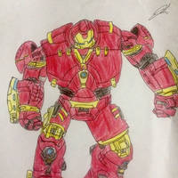 The Hulkbuster  by namichee