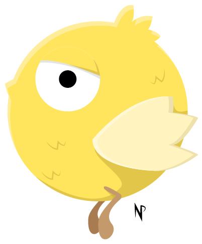 The F*ck Off Bird... by graysfang23