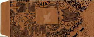 doodle on an envelope
