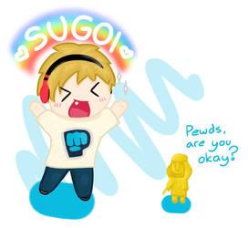 Sugoi PewDiePie Chibi by pilchardxxx