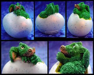 Hatching Draggles - Thumb by MightyAtom99