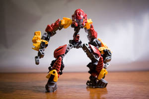 BIONICLE MOC: Copperload by tarukatheultimate