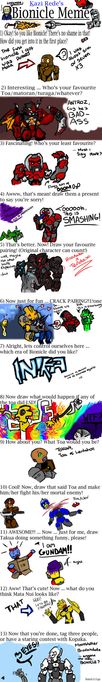 BIONICLE meme by tarukatheultimate
