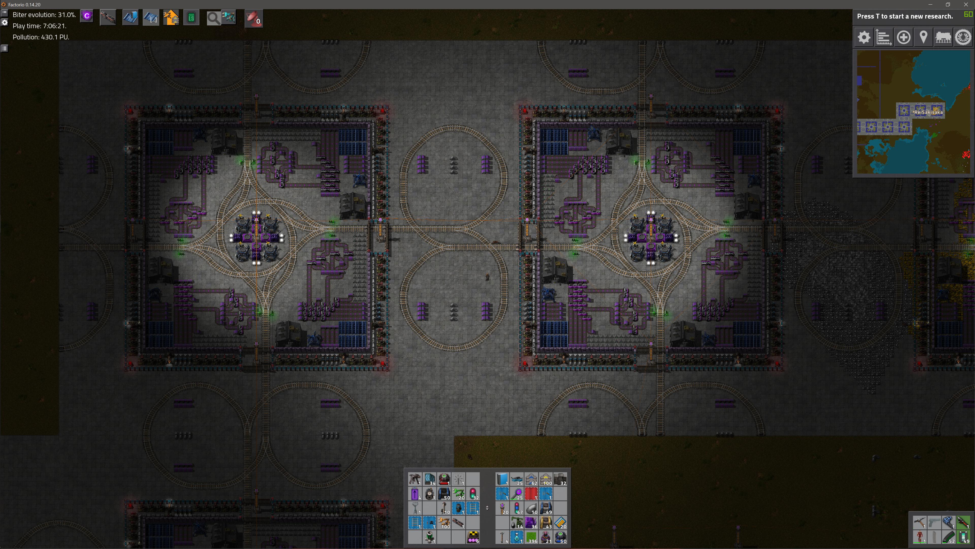 Elegant Incredible Inefficient Modular Factorio Outpost By ReiSakisaka Incredible  Inefficient Modular Factorio Outpost By ReiSakisaka