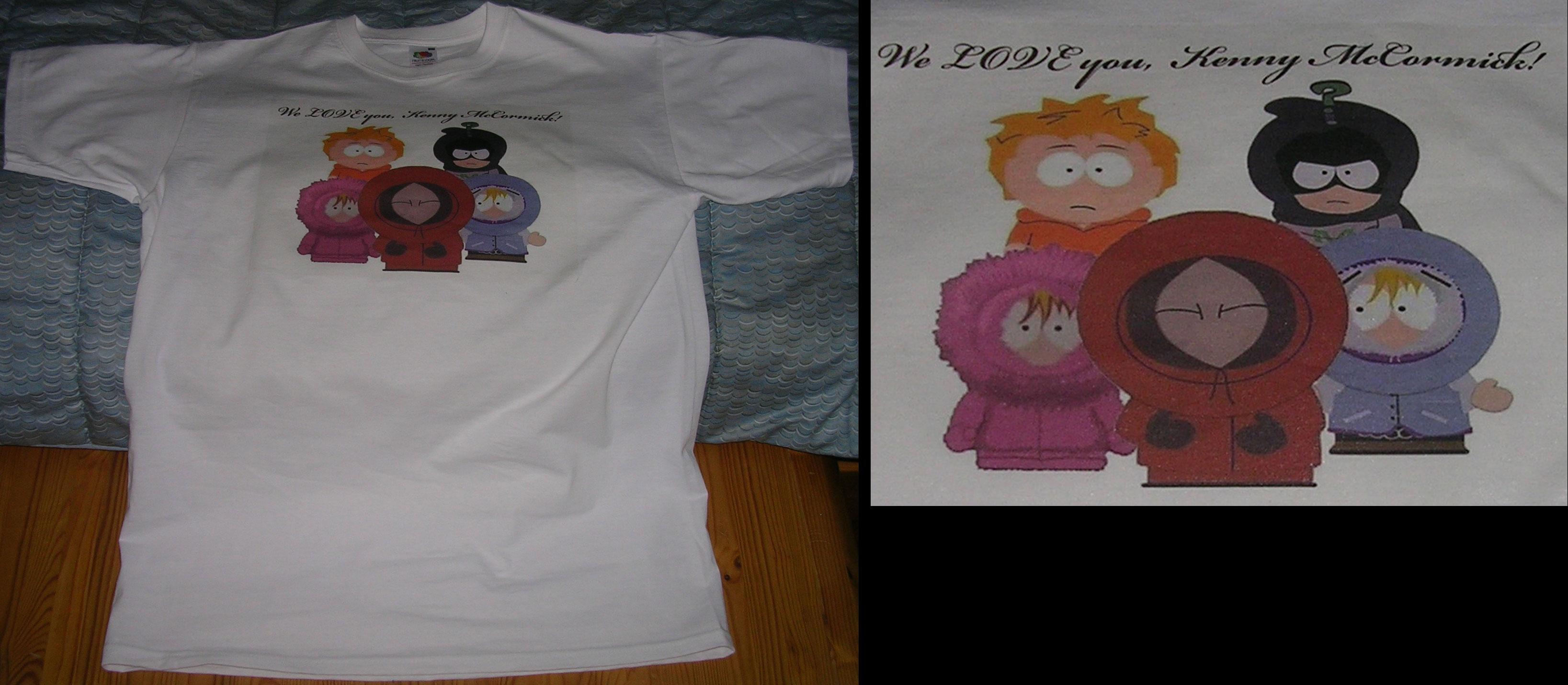 Kenny Fan T-Shirt I Made by megasupermoon