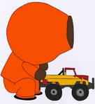 South Park Action Poses - Kenny 17