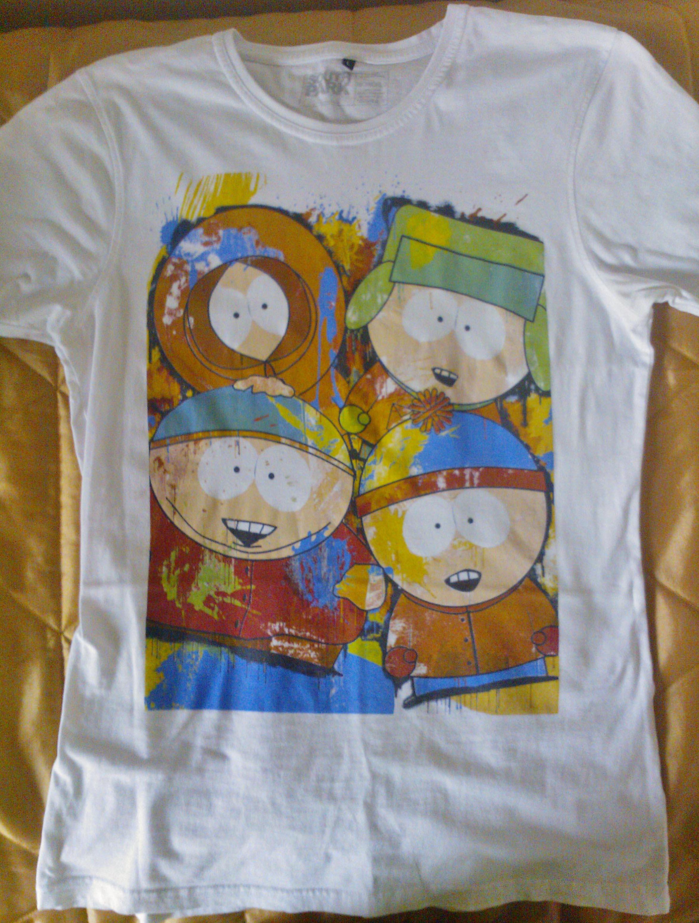 My Second South Park T-shirt by megasupermoon