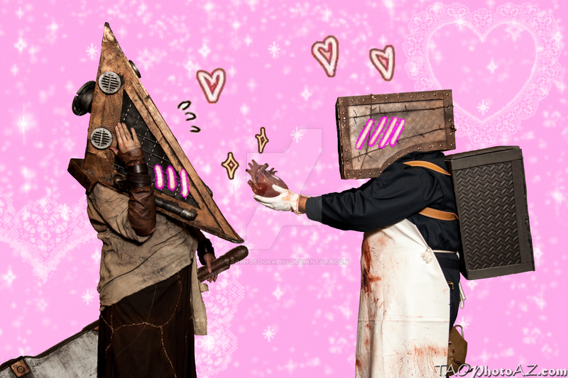 Pyramid Head Finds Love By TaoPhotography On DeviantArt