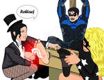 Nightwing in Trouble FF/M