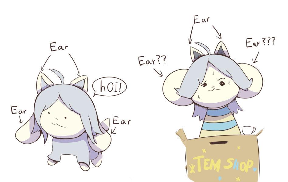 Temmie Ears