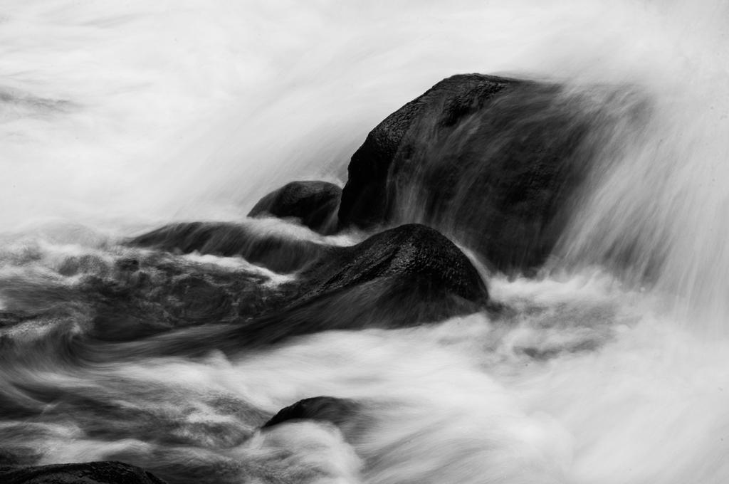 cold mountain stream by Mjag