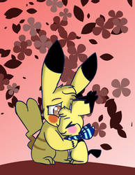 Mother's day Pikachu and Pichu by Captainpets