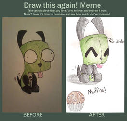 Gir before and after by Captainpets