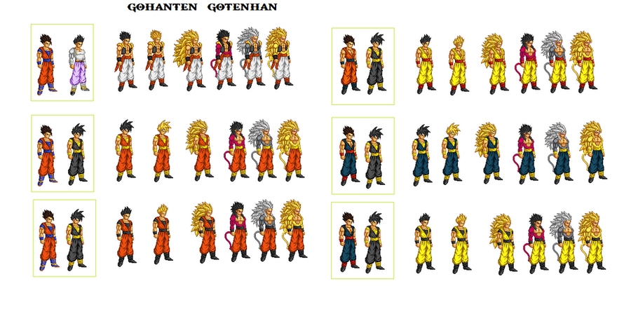 Showing Gallery For Goten And Gohan FusionGohan And Vegeta Fusion