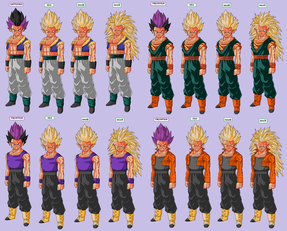 Future Goten And Trunks fusion goten trunks by
