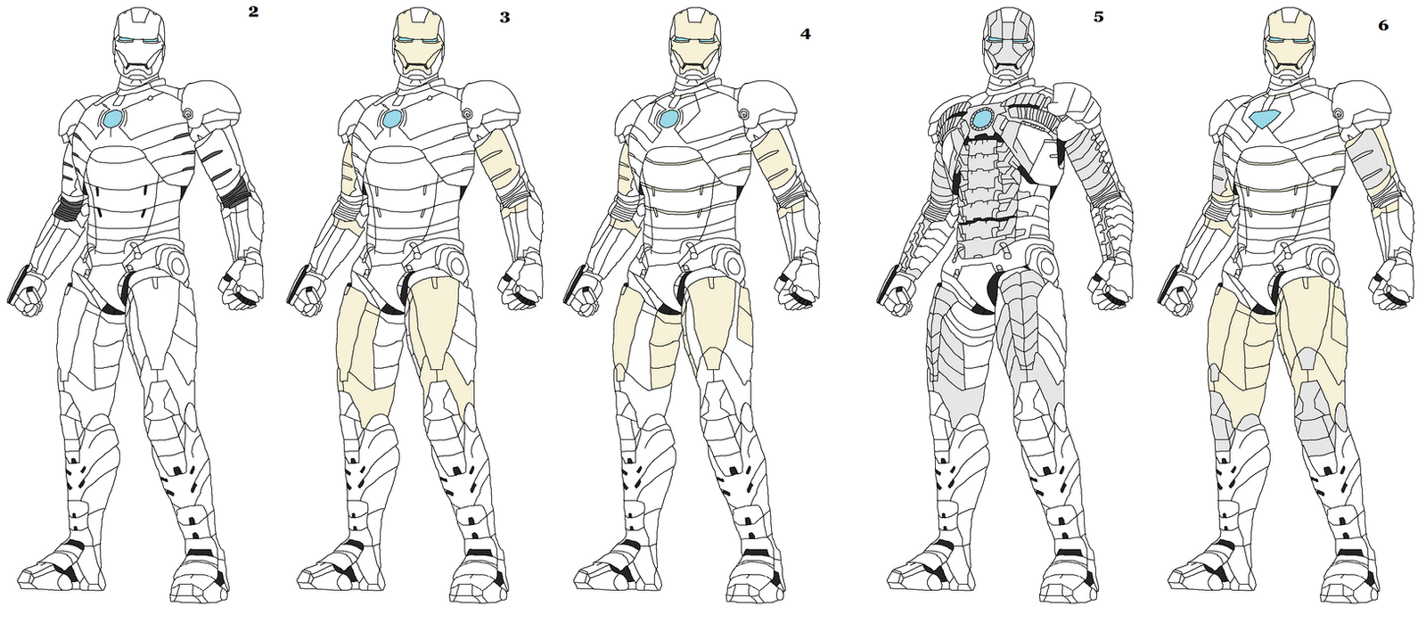 iron man mark lineart by naruttebayo67 - Iron Man Coloring Pages Mark