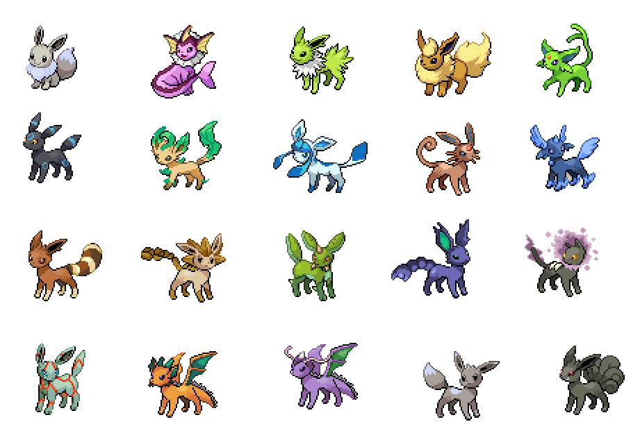19 lovely ausmalbilder pokemon evoli entwicklungen