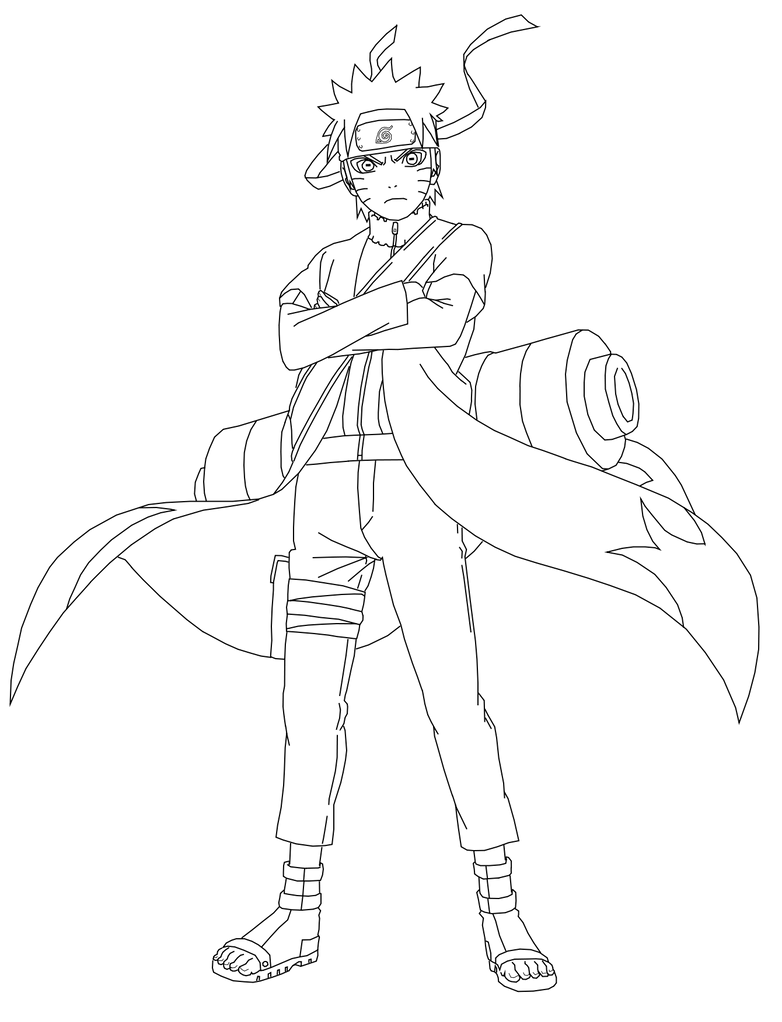 Naruto Shippuden Lineart : Ultimate ninja impact lineart by naruttebayo on deviantart