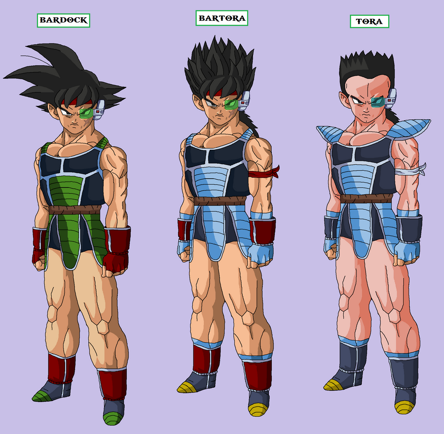 and since bardock and tora are best friends i made a fusion of the twoKing Vegeta And Bardock Fusion