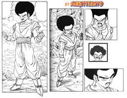 gotan (gokule) manga lineart by Naruttebayo67