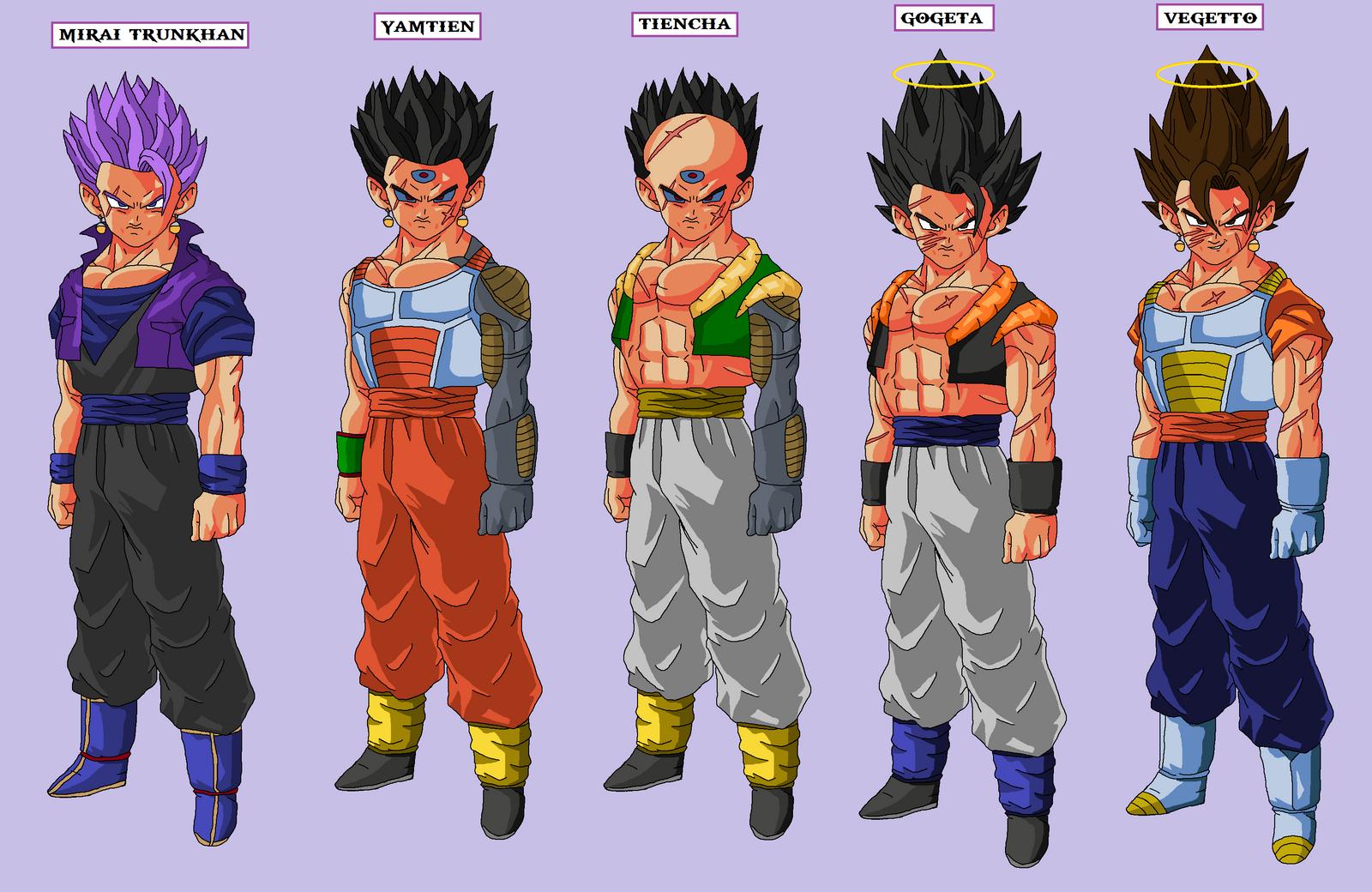 Dbaf Goku And Gohan Fused http   naruttebayo67 deviantart com art    Goku And Gohan Fusion Ssj4