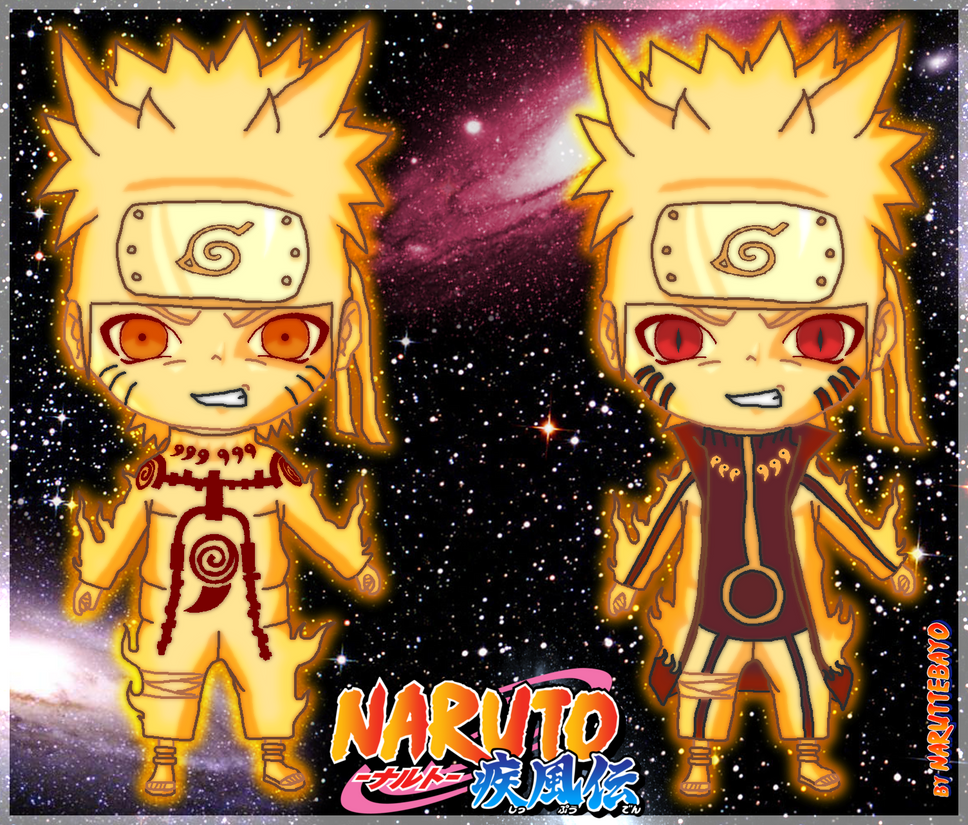 Naruto chibi bijuu mode - v2 by Naruttebayo67 on DeviantArt
