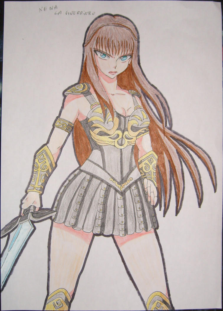Xena la guerriere coloring by naruttebayo67 on deviantart Xena coloring book