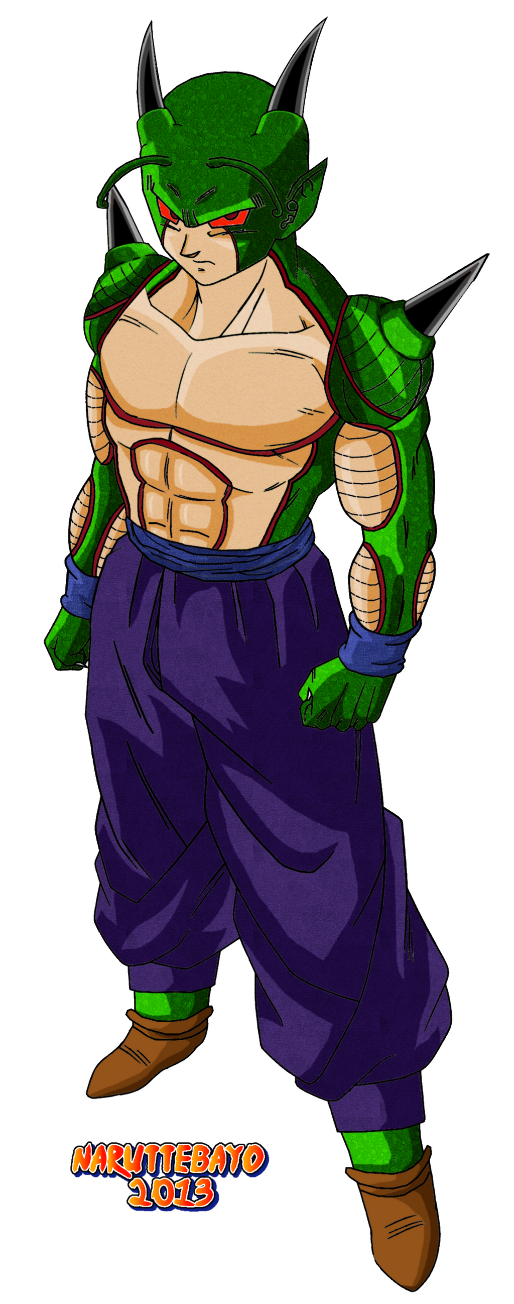 It makes more sense for there to be a god form of Namekian ...