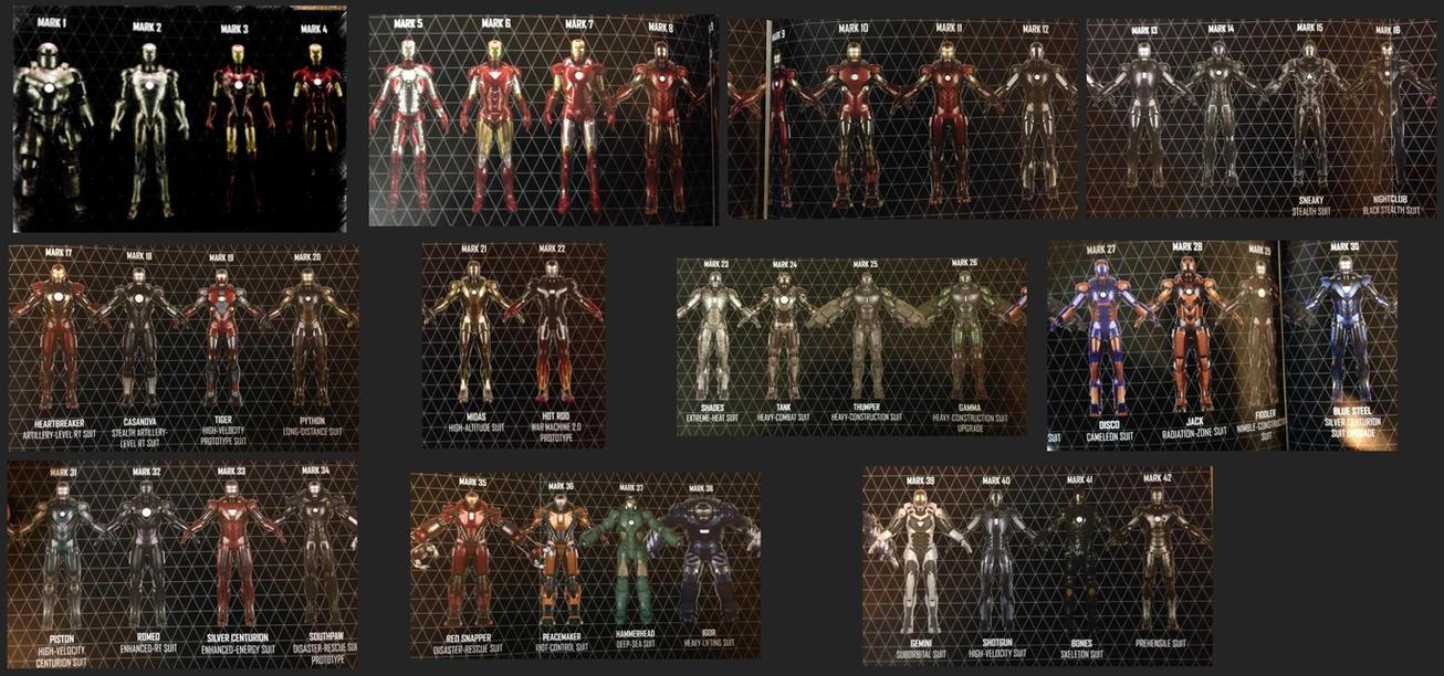 Iron Man Suits Mark 1 42 | www.pixshark.com - Images ...