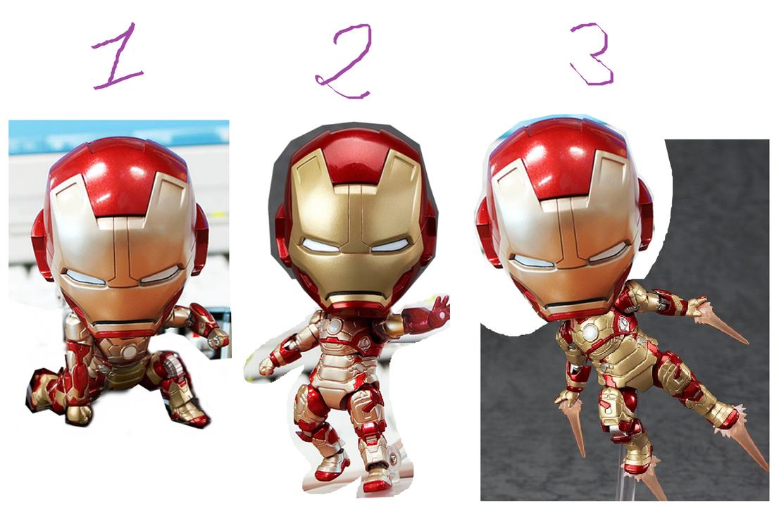 References Pose Chibi Ironman by Naruttebayo67